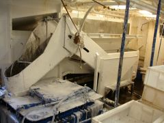 New Year Trip- Catch handling system foamed for brilo pad and powerhosing