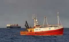 Enterprise  INS 11  and   MV Isle of Lewis