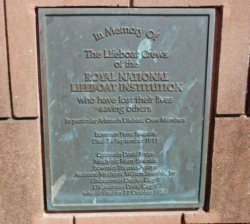 Arbroath Fishing and Lifeboat Memorial