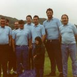 Tarbert Fishermens tug o war team