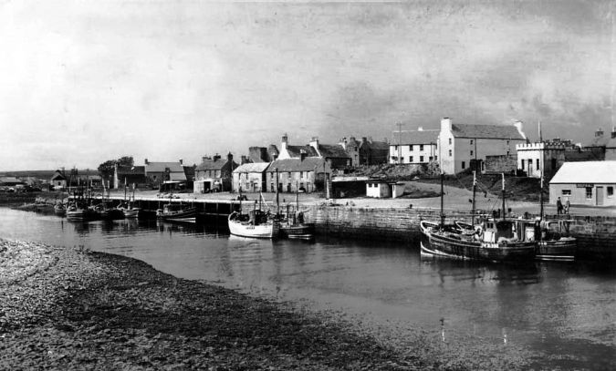 Thurso Harbour late fifties