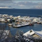 Mallaig covered in snow