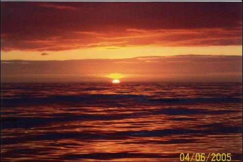 Sunrise in the Minch