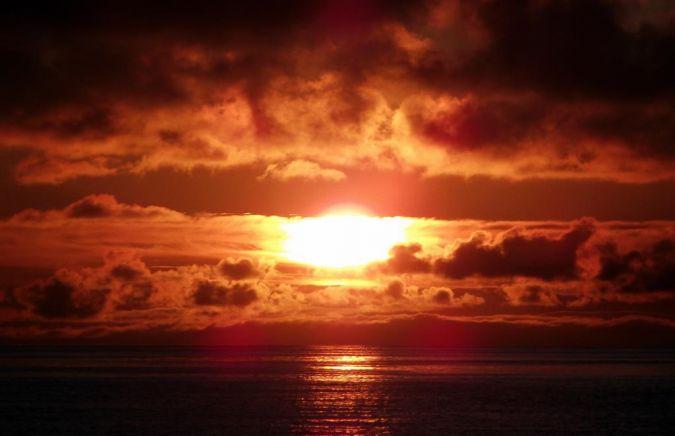 Sunrise in the North Minch