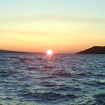 sunset over mellon