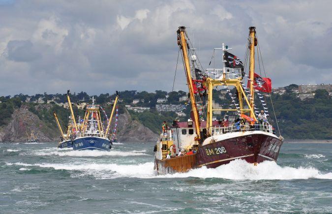 Brixham Trawler Race 2009