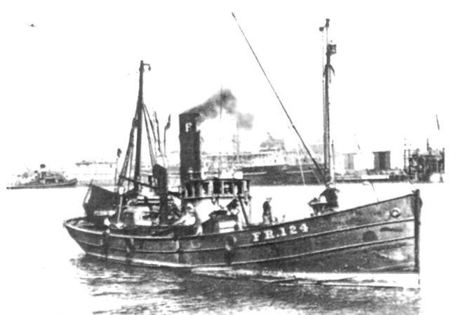 steam drifter - fraserburgh  fr