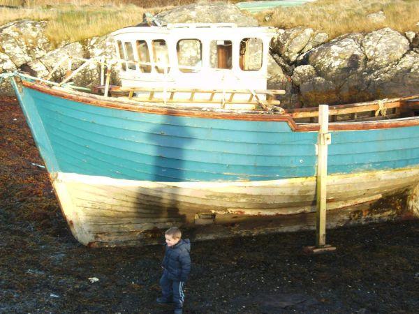 Unknown vessel