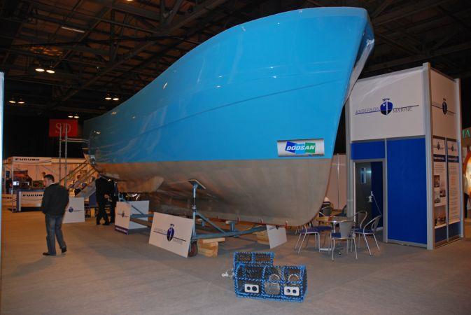 Anderson Marine - Cygnus Hull