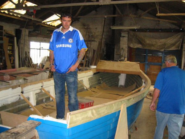 having a look o new boat