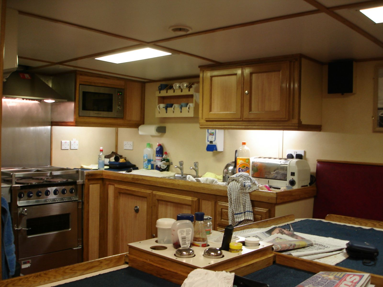 New Year Trip- Galley-Mess