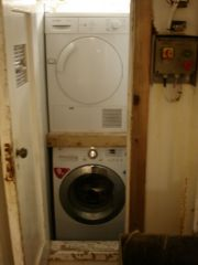 New Year Trip- Wash and Dryer