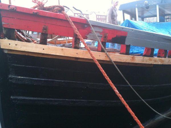 Half a boat