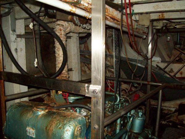 Christina II Engine Room