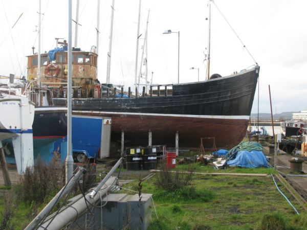 boat yard on clyde