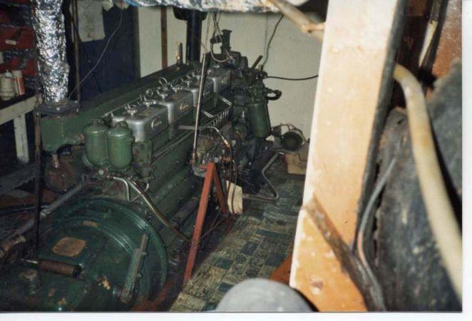 Golden West Engine Room