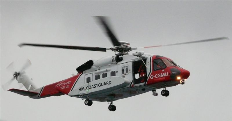 Stornoway based rescue helicopter