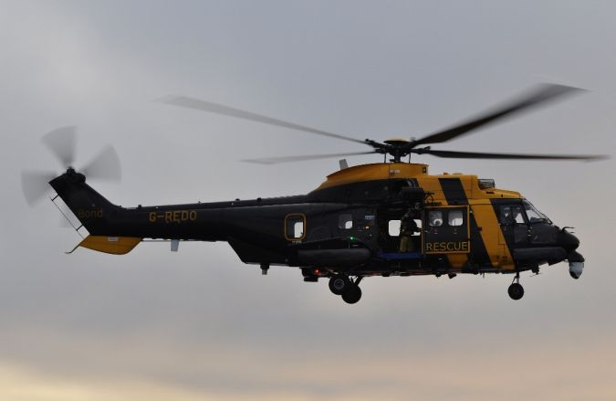 Bond Search and Rescue Helicopter