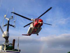 Stornoway Coastguard Rescue Helicopter