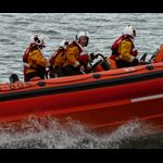 BANGOR LIFEBOAT TURNING