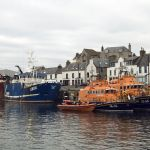 THREE LIFEBOATS LYING IN MACDUFF