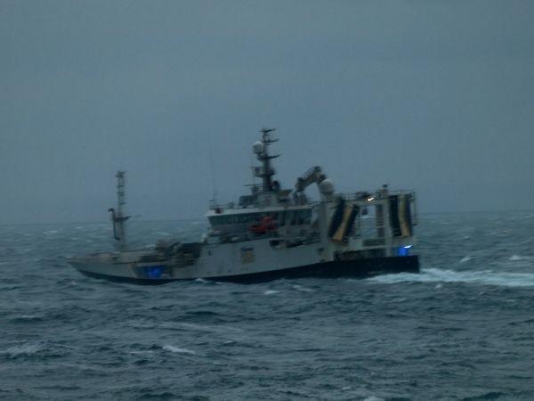 Pelagic Trawler leaving Snizort