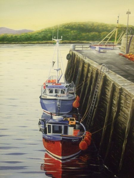 LOBSTER BOATS AT GARLIESTON