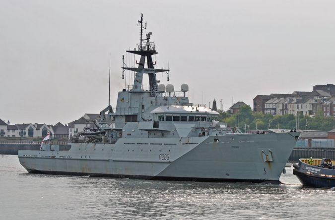 HMS Mersey - P283
