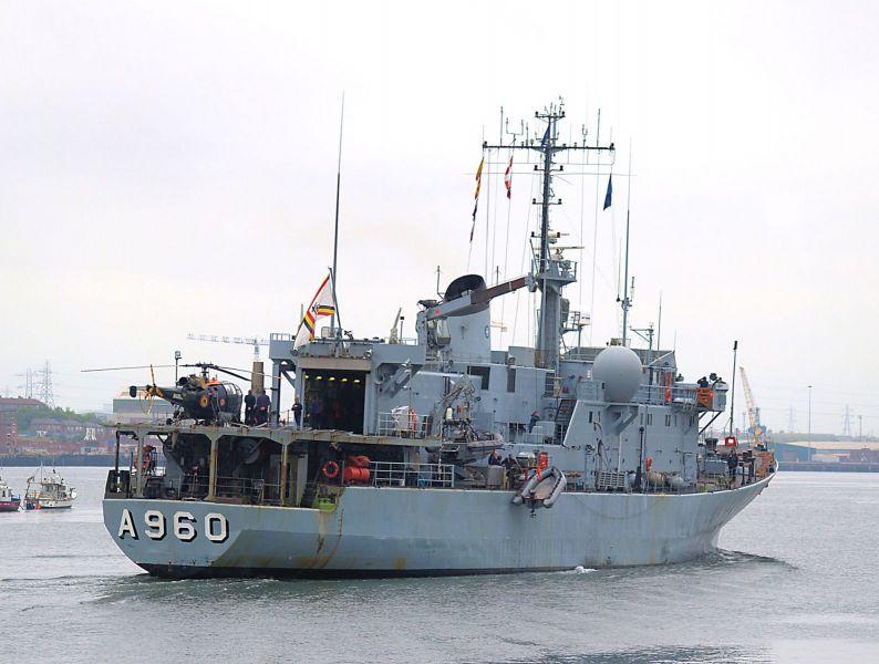 BNS Godetia - A690