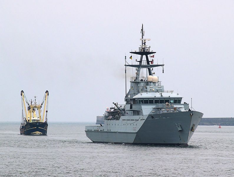 HMS Severn - P282
