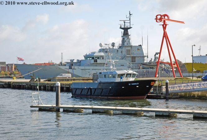 St Oswald and HMS Mersey