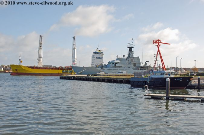 St Oswald and HMS Mersey and Tracer