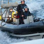 HMS Severn attack team