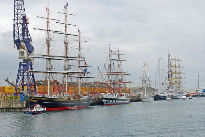 Tall Ships Race 2010 - Hartlepool