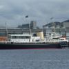 Brittania at Ocean Terminal Leith