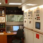 M/Y Ilona's Engine Control Room