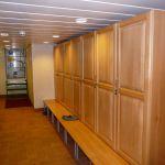 Oilskin lockers