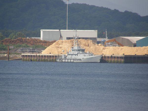 Customs boat