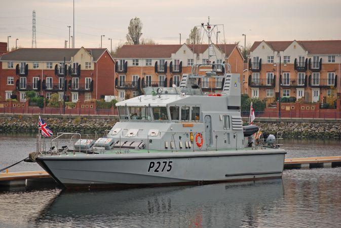 HMS Raider - P275