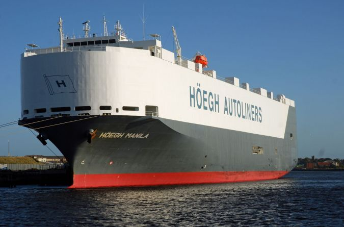 Car Carriers - Gallery - TrawlerPictures net