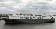 HOEGH TREKKER - Car Carriers - Gallery - TrawlerPictures net