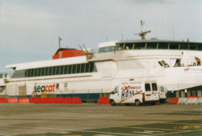 A Seacat in Belfast
