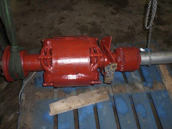 Generator back after being re-varnished after insulation break down