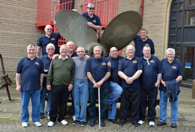North Shields Ex Fishermen in Grimsby
