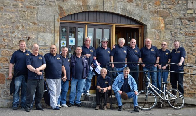 North Shields Ex Fishermen in Anstruther
