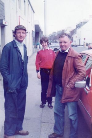 Me, Hugh and Robbie-early 80's