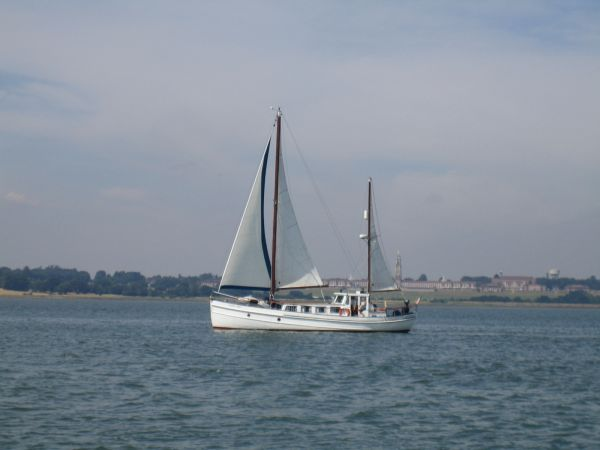 Maireared (now Scots Miss) under sail