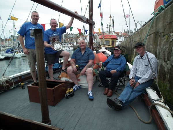Christina II wins Anster Muster Oldest Boat Trophy