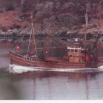 Catherine Anne TT31 Entering Tarbert Harbour
