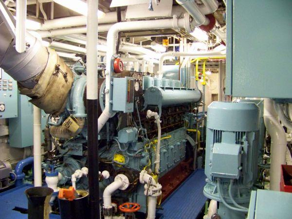 Grampian Venture Main Engine